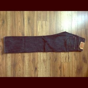 Levi's 501 button fly 30x32 blue heavy weight
